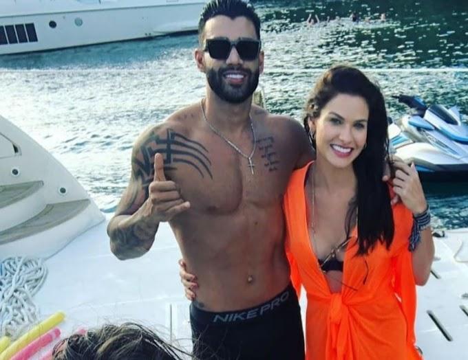RECONCILIAÇÃO ? Gusttavo Lima e Andressa Suita são flagrados juntos