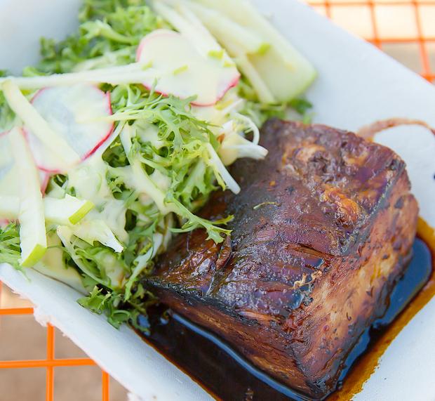 photo of Pork Belly Appetizer
