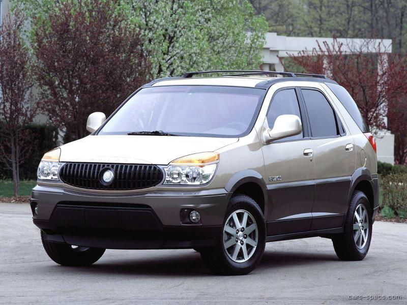 2002 buick rendezvous suv specifications pictures prices. Black Bedroom Furniture Sets. Home Design Ideas