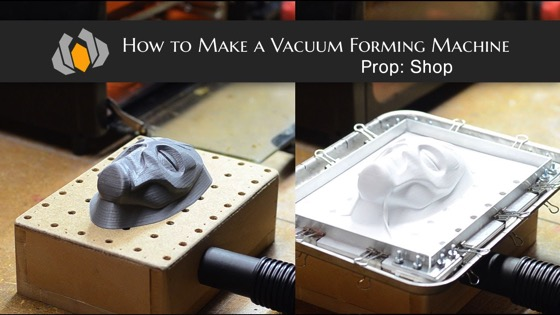 How to Make a Vacuum Forming Machine from Prop Shop