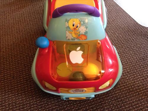 Tyttäresi auto muistuttakoon sinua teknisen kehityksen vääjäämättömyydestä