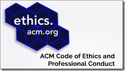 ethics ACM