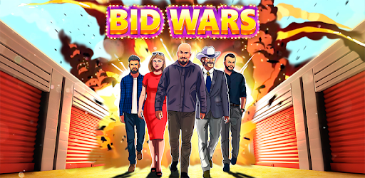 Become a rich tycoon in the auction world! Earn money in bid and storage wars!