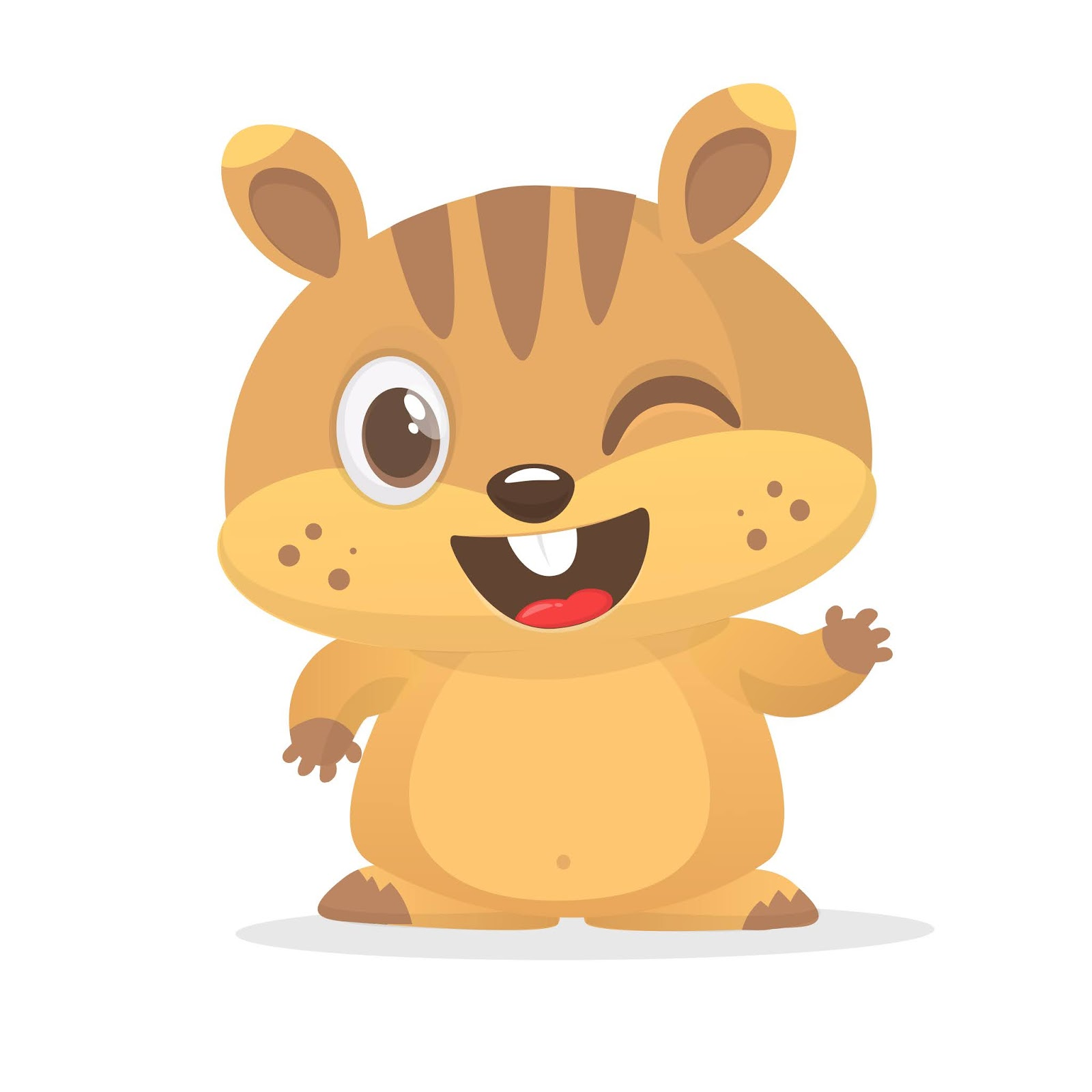 Cartoon Groundhog Free Download Vector CDR, AI, EPS and PNG Formats