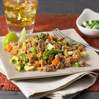 Pork Quinoa Fried Rice.