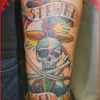 skull anchor tattoo arm - tattoo meanings