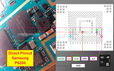 ISP PinOut Samsung GT-P5200