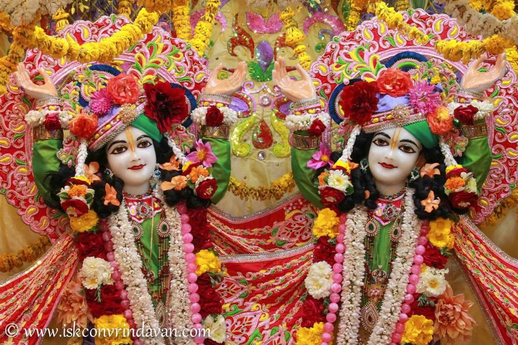 ISKCON Vrindavan Sringar Deity Darshan 29 Feb 2016 (4)