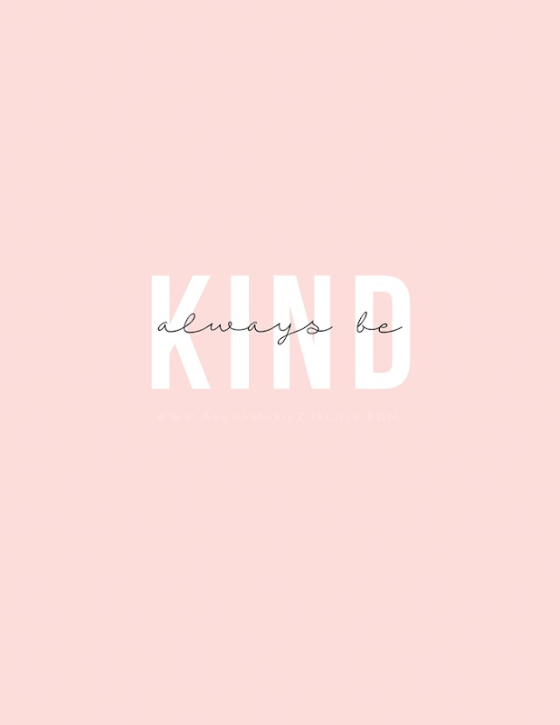 always be kind free printable and how to pair fonts