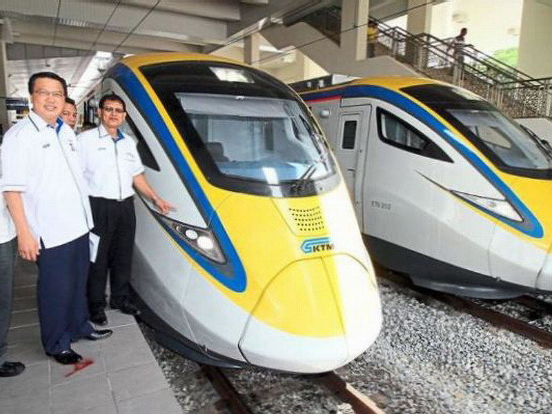 KTMB Electric Train Service ETS