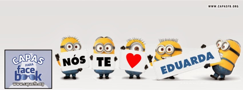 Capas para Facebook Eduarda