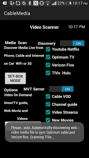Cable Media Scanner