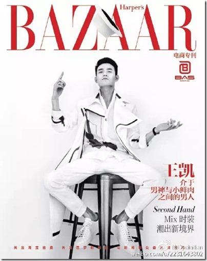Wang Kai X Bazaar 王凯 X 时尚芭莎 Jan 2016 01-01