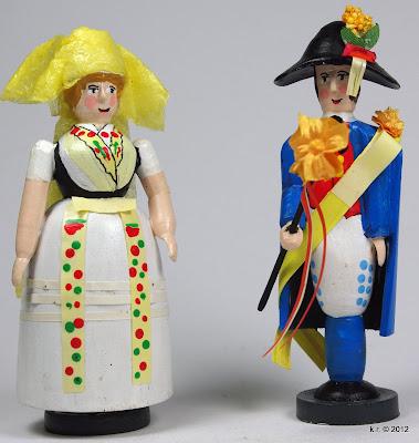 Sorbowendin und Hochzeitsbitter aus dem Spreewald