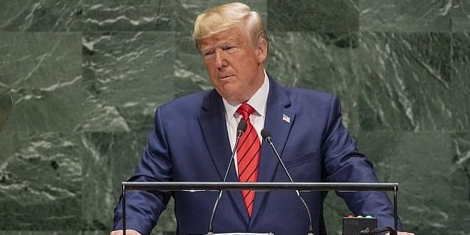 Trump Demands Muslim Countries Show Respect to Israel