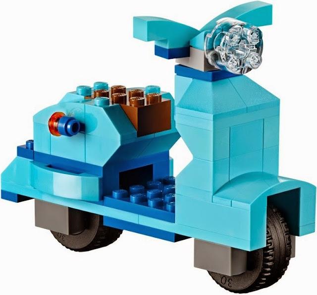 Lego Classic 10698 có kèm theo hướng dẫn và hình mẫu cho bé tập xếp hình