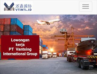 Pt vantsing international group