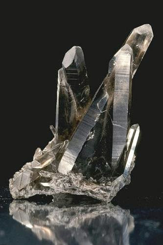Charge A Smoky Quartz Crystal For Protection And Grounding