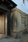 姫路城:転用石