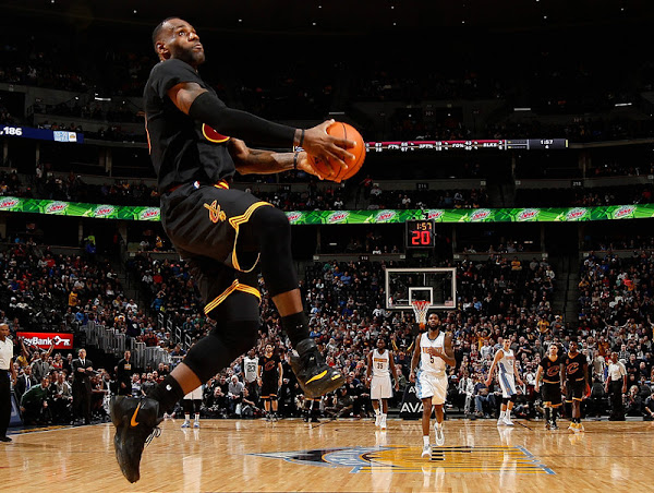 At 31 Years Old King James Reminds Us He Can Still Get Up