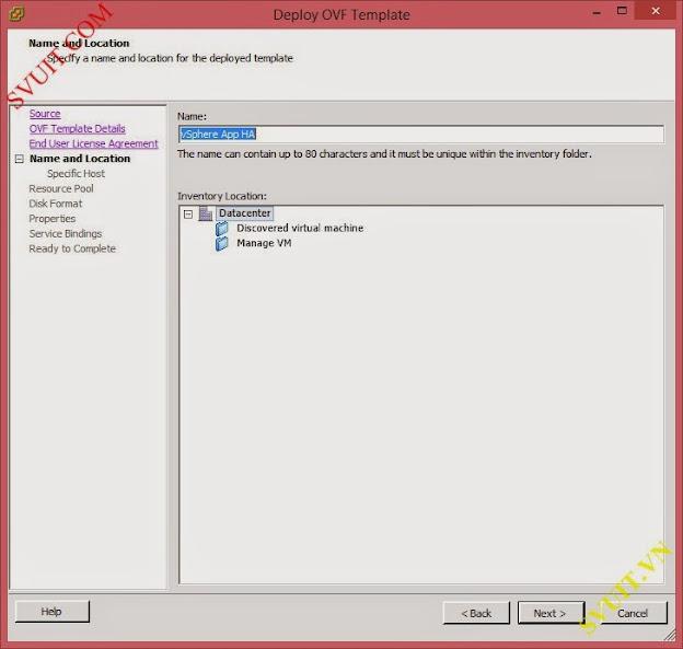 deploy vSphere App Ha (5)