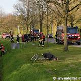 Brandweeroefening in Nieuwe Pekela - Foto's Harry Wolterman