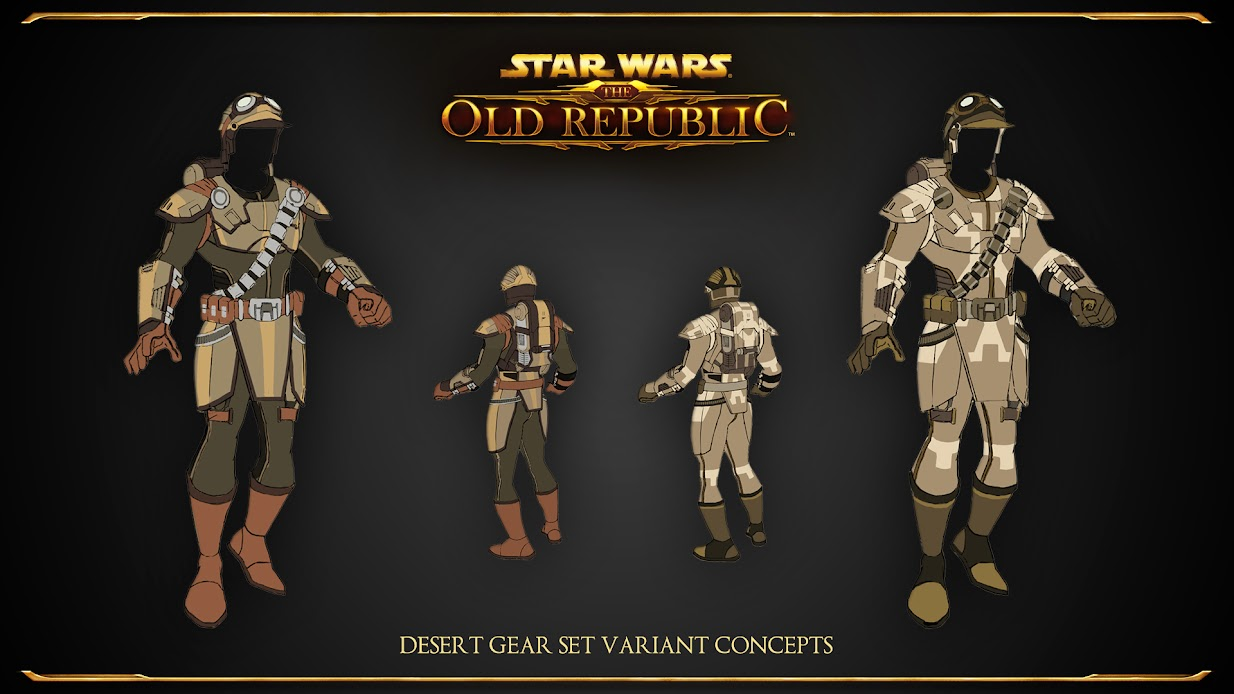 Desert Gear Variants