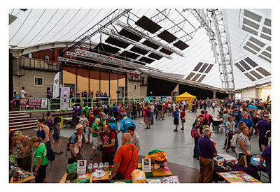 UK Mega 2016 in North Wales - In der Halle - die Aussteller