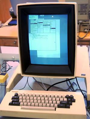 Our Xerox Alto running Smalltalk-76.