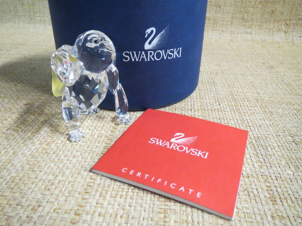 Swarovski Crystal Gorilla