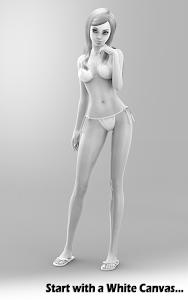 Figuromo Dress Doll: Bikini v2.5
