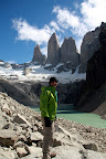 Joshua at Las Torres (Torres Del Paine, Chile)