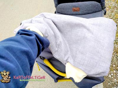 DIY * Nähen * Baby * Tutorial * der etwas andere Kinderwagen-Muff * blog.kartoffeltiger.de