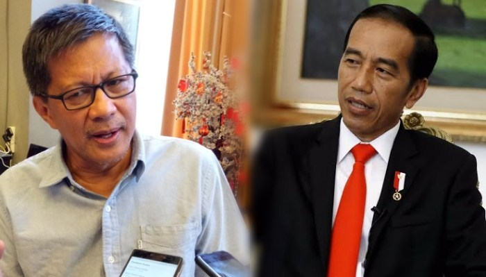 Sebut Jokowi Sebetulnya Berharap Jabatannya Diperpanjang 3 Periode, Rocky Gerung: Tidak Ada Alasan Dia Menolak!