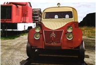 Citroën 1956 2 CV AZU draisine
