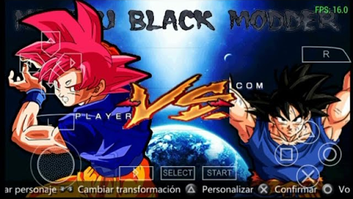 BEST MOD DRAGON BALL SUPER TONEIO DO PODER SHIN BUDOKAI (PSP) 2018
