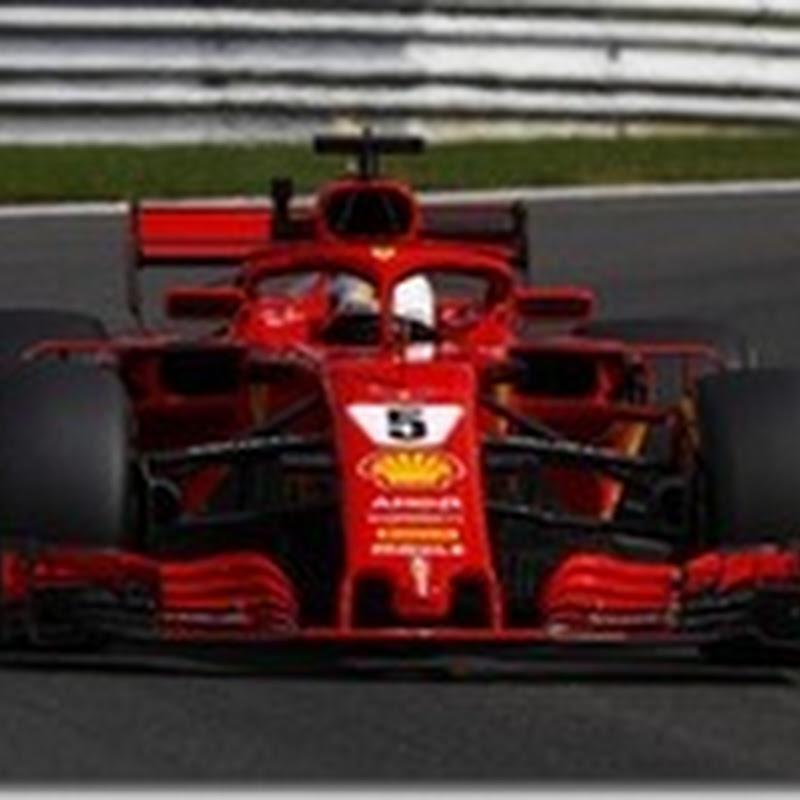 GP del Belgio: Nelle prove libere i più veloci sono Vettel e Raikkonen