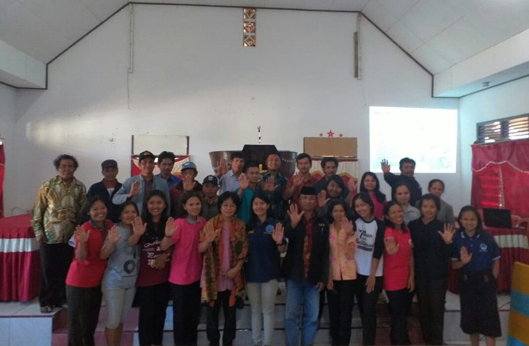 Jemaat Gereja Toraja Sangpiak Awan Antusias Ikuti Edukasi  Bahaya Narkoba