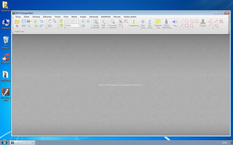 PDF-XChange Editor Plus 7.0.327.1 Türkçe