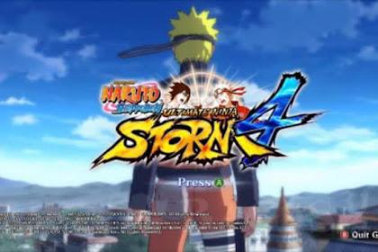 Naruto Senki Mod Storm 4 - by Alwan Apk