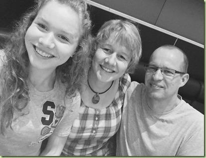 Emma and parents