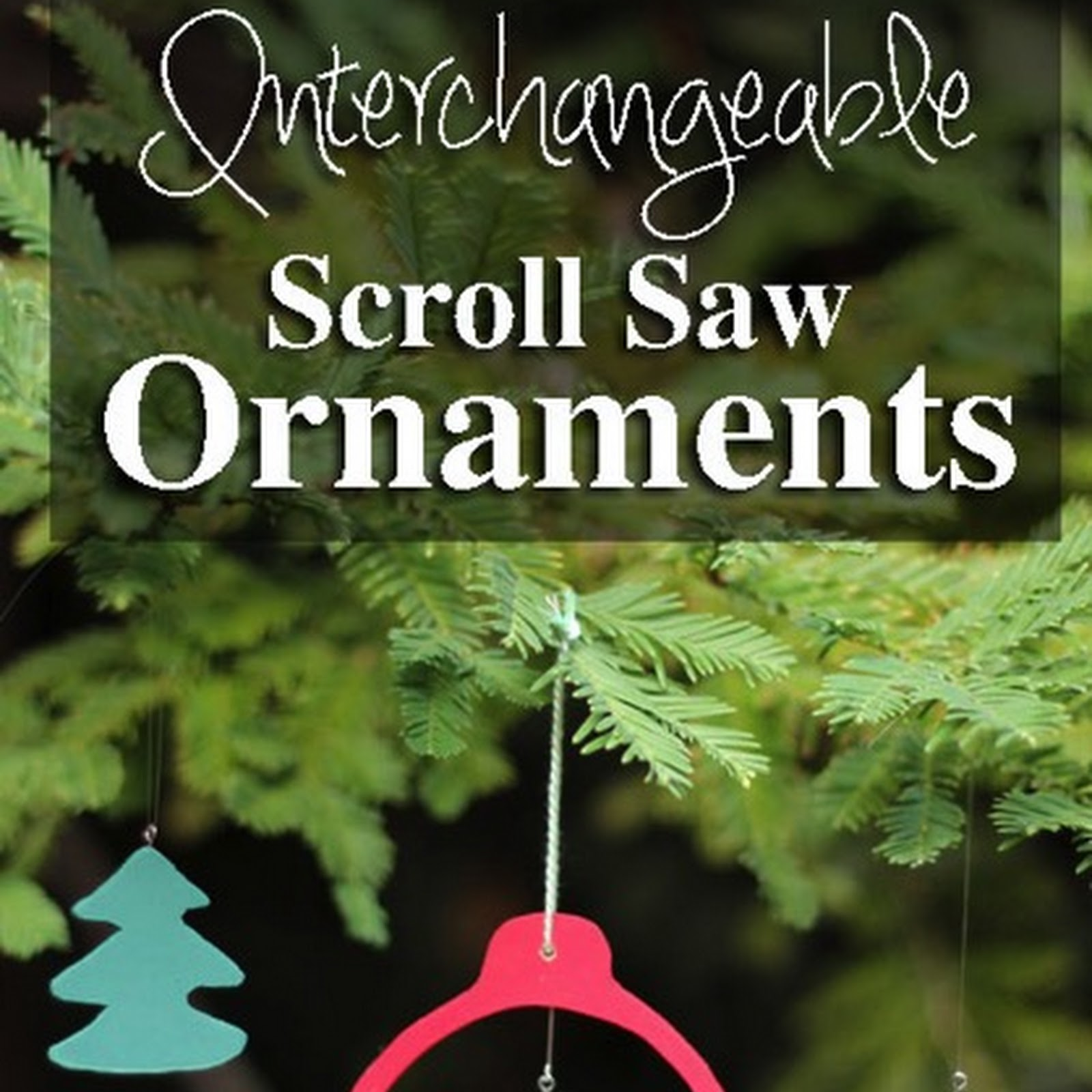 Customizable Wooden Scroll Saw Ornaments
