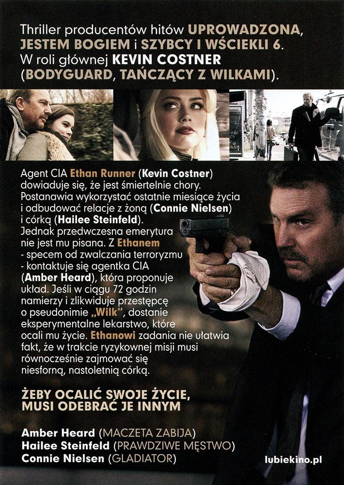 Ulotka filmu '72 Godziny (tył)'