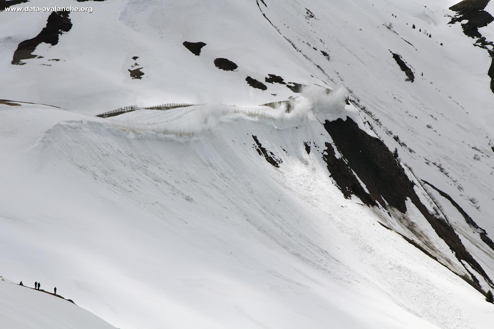 Avalanche Maurienne, secteur Ouillon, Col du Glandon - Photo 1 - © Duclos Alain