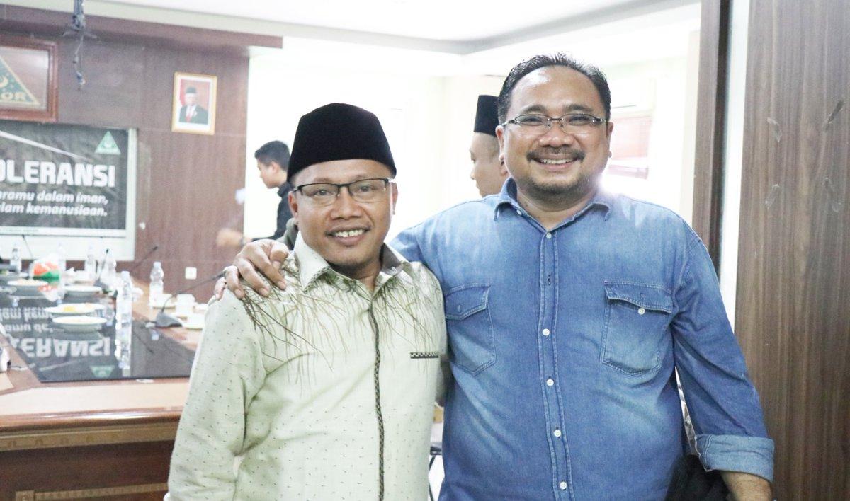 Gus Yaqut: Ada yang Ingin Benturkan NU dan Muhammadiyah