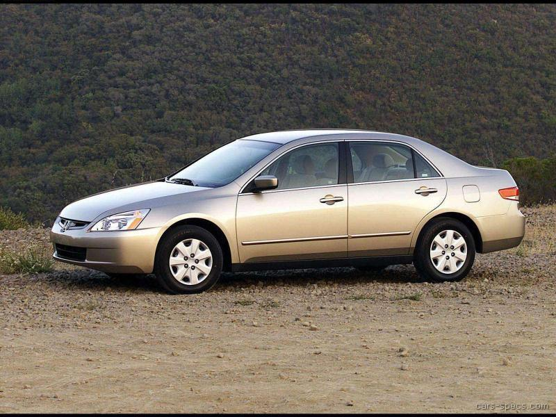 2004 Honda Accord Sedan Specifications Pictures Prices