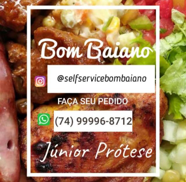 Restaurante Self Service Bom Baiano hoje servindo panquecas; Peça já a sua!