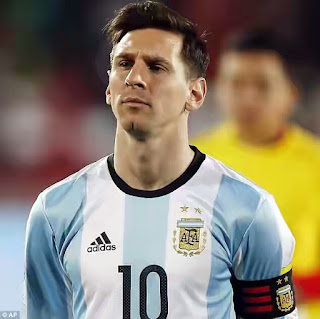 Argentina captain Lionel Messi