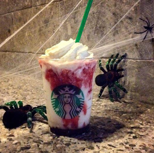 Frappula Frappuccino, Starbucks Halloween Drink | The Peach Kitchen