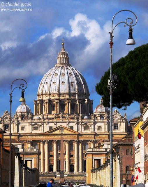 Roma. Biserica Sf. Petru / Basilica San Pietro